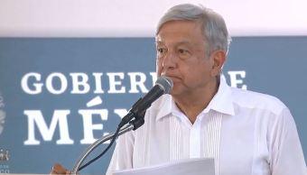 AMLO entrega recursos de Bienestar en Sinaloa. (Gobierno de México, YouTube)