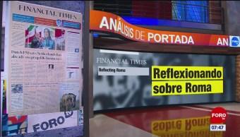 Análisis de las portadas nacionales e internacionales del 14 de febrero del 2019