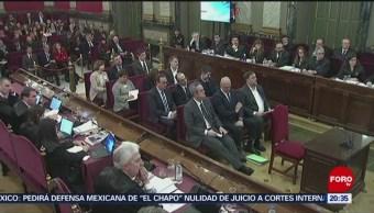 Foto: España Juicio Contra Líderes Independentistas Catalanes 12 de Febrero 2019