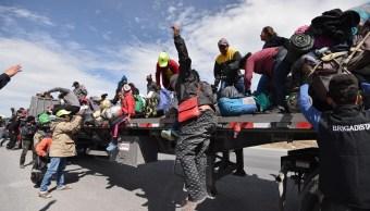 Foto: Arribo de migrantes a Coahuila, 7 de febrero 2019. EFE