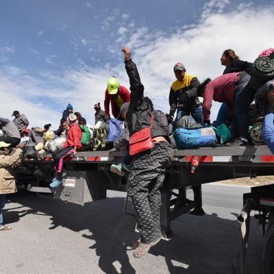 Han llegado más de 2 mil migrantes al albergue de Piedras Negras