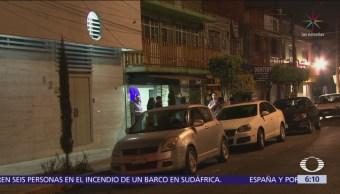 Asalto a clientes de bar en la colonia Moctezuma, CDMX