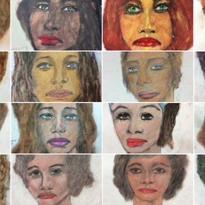 Asesino de 90 mujeres dibuja a sus víctimas