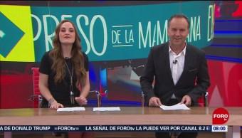 Así arranca Expreso de la Mañana con Esteban Arce del 19 de febrero del 2019