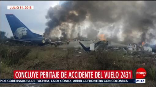 Foto: Avionazo De Durango Peritaje 20 de Febrero 2019