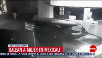 Foto: Balean a mujer cuando ingresaba a un motel en Mexicali
