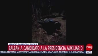 Foto: Balean a político en Puebla