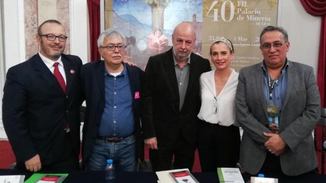 Beatriz Gutiérrez Müller presenta libro en la FILPM sobre la conquista de México