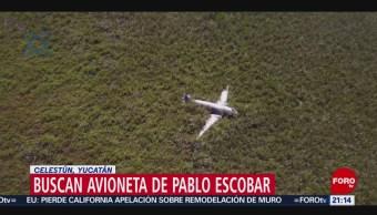 Foto: Buscan Avioneta Extraviada Pablo Escobar Yucatán 12 Febrero 2019