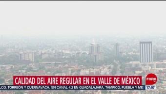 FOTO: Calidad del aire regular en el Valle de México, 17 febrero 2019