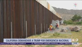 California presentará demanda contra muro de Trump