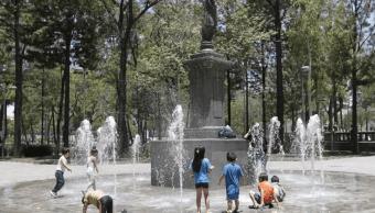 Foto: Calor en la Ciudad de México