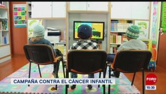 Campaña contra el cáncer infantil
