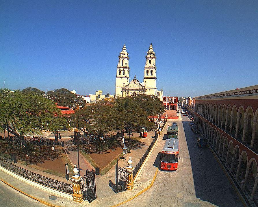 Foto: Panorámica de Campeche, el 19 de febrero 2019