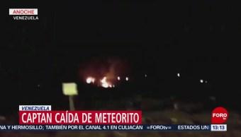 FOTO: Captan caída de meteorito, 10 febrero 2019