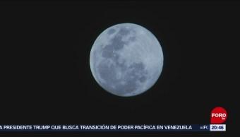 Foto: Luna Hoy, Luna de Nieva SiperLuna 18 de Febrero 2019