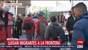 FOTO: Caravana de migrantes llega a Piedras Negras, Coahuila, 4 febrero 2019