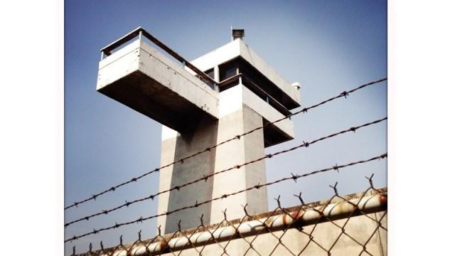 Foto: Torre de vigilancia de una prisión en la Ciudad de México, México, 26 de febrero de 2019 (Getty Images)