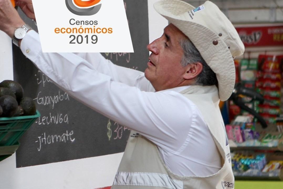 Censos económico, INEGI, Julio Santaella, Twitter, @INEGI_INFORMA, 7 febrero 2019