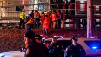 EEUU: Choque de trenes con un vehículo en Nueva York deja 3 muertos