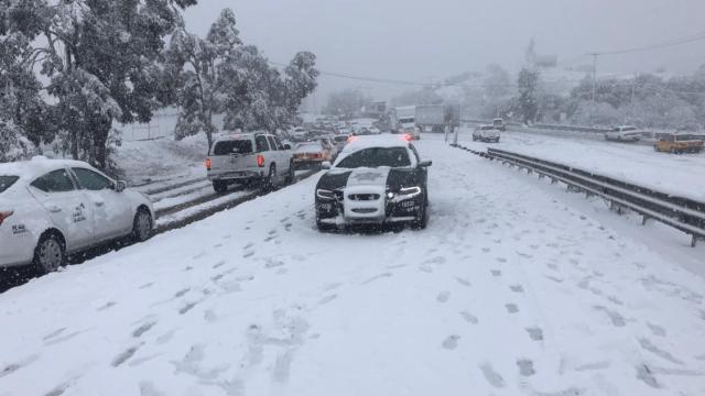 FOTO Sonora suspende clases de primaria por frío y nevadas sonora 22 febrero 2019 twitter UEPC Sonora