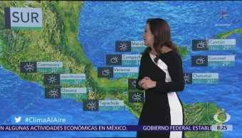 Clima Al Aire: Prevén posibles lluvias en el Valle de México