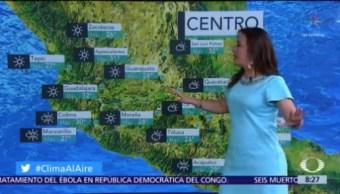 Clima Al Aire: Se prevé ambiente de cálido a caluroso en gran parte de México