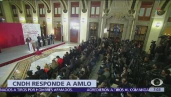 CNDH pide privilegiar diálogo en Michoacán