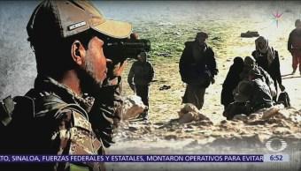 Combate por último bastión del Estado Islámico en Siria