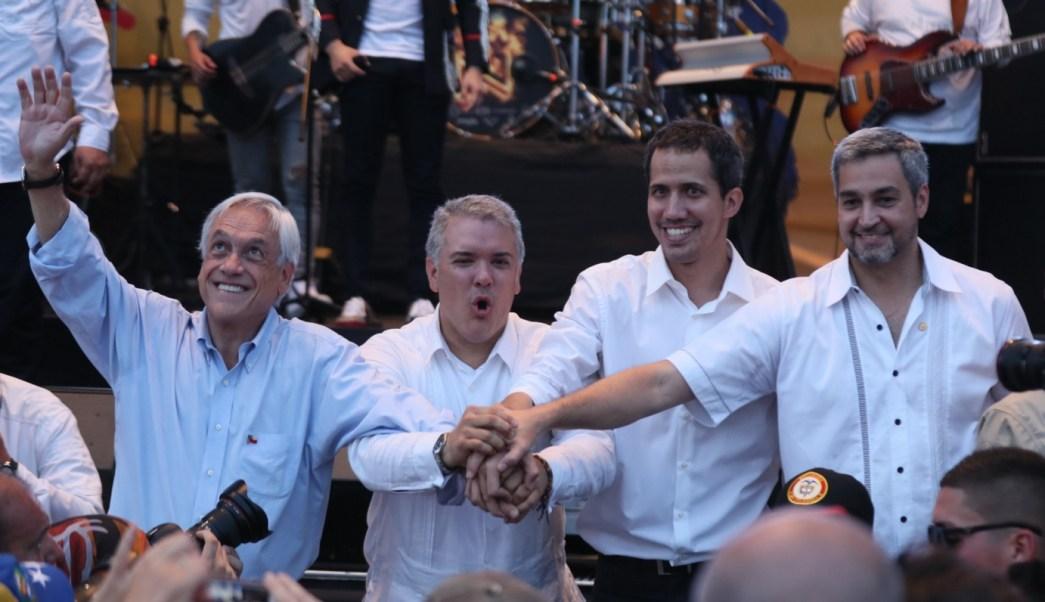 Conciertos de Guaidó y Maduro entre Colombia y Venezuela: Así fue el combate que cimbró la frontera