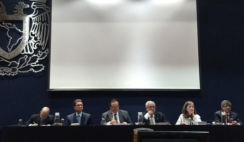 Foto: El rector de la UNAM, Enrique Graue, durante la sesión ordinaria del Consejo Universitario, Ciudad de México, febrero 12 de 2019, (Twitter: @UNAM_MX)