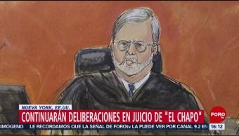 FOTO: Continuarán las deliberaciones del juicio contra 'El Chapo' Guzmán, 10 febrero 2019