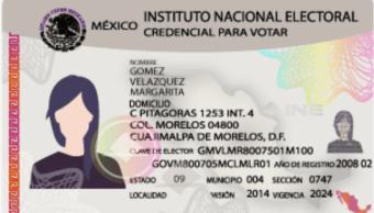 credencial de elector, ine alista licitación, INE, 25 febrero 2019