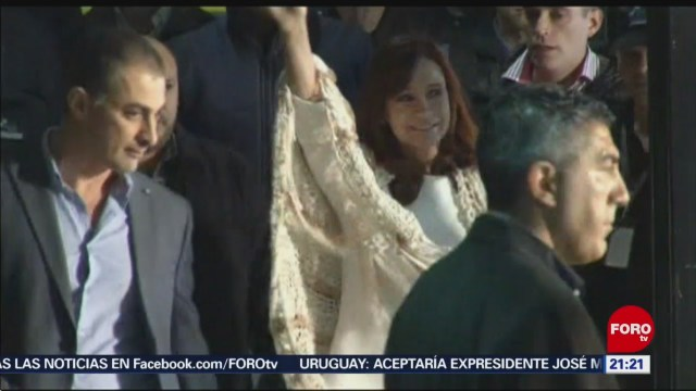 Foto: Cristina Fernández Competirá Elecciones Presidenciales Argentina 01 de Febrero 2019