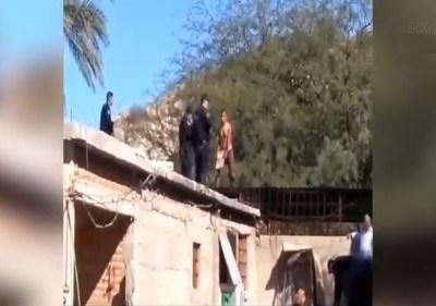 Abaten a sujeto que atacó a policías con cuchillo en Hermosillo, Sonora