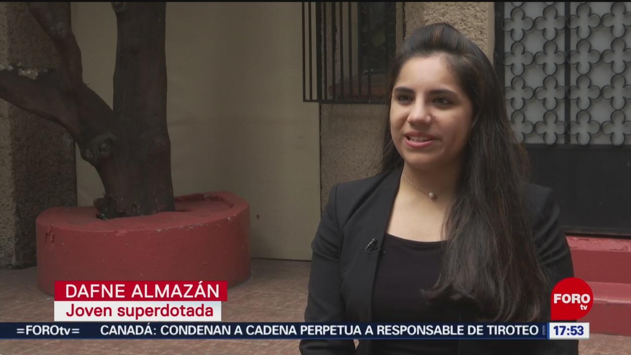 Foto: Dafne Almazán estudiará en Harvard a sus 17 años