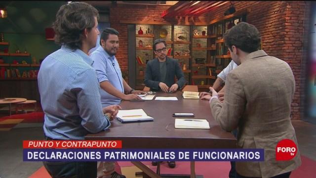 Foto: Declaraciones Patrimoniales Olga Sánchez 8 Febrero 2019