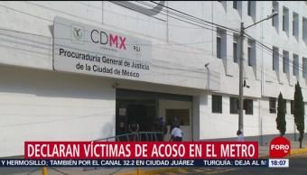 Foto: Declaran víctimas de acoso en Metro de CDMX