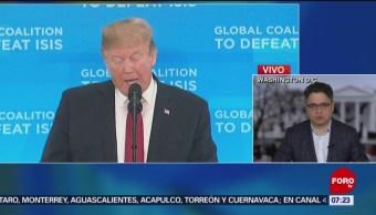 Demócratas fijan postura sobre muro fronterizo