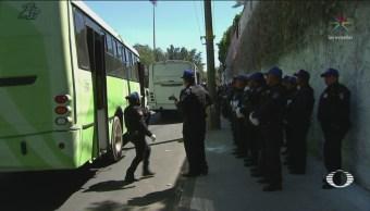 Foto: Falso Operativo Asaltos Transporte Público Iztapalapa 20 Febrero 2019