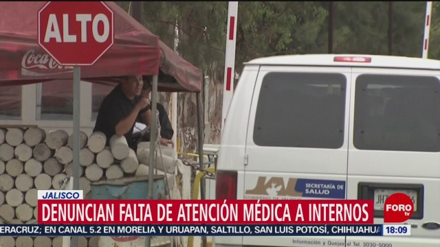 FOTO: Denuncian falta de atención médica a internos de Puente Grande, 4 febrero 2019