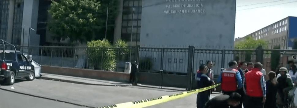FOTO Amenaza de bomba provoca desalojo en juzgados de Naucalpan 19 febrero 2019 forotv