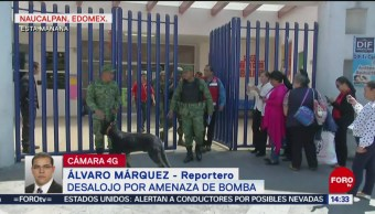 Foto: Desestiman amenaza de bomba en sede municipal de Naucalpan