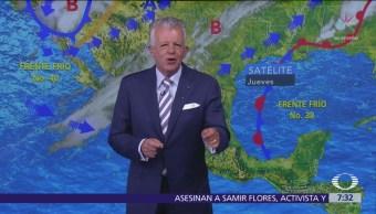Despierta con Tiempo: Prevén formación de octava tormenta invernal