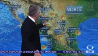 Despierta con Tiempo: Prevén lluvias en el norte de México