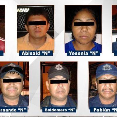 Detienen a 9 personas vinculadas con 'Los Rojos en Chilapa, Guerrero