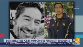 Detienen a tres por el homicidio de periodista Reynaldo López
