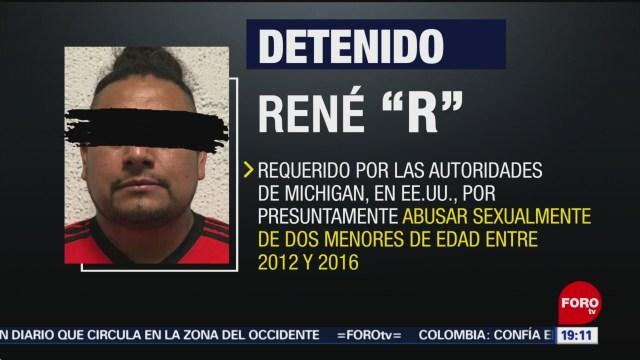 FOTO: Detienen a un hombre requerido por EU por abuso sexual de menores, 3 febrero 2019
