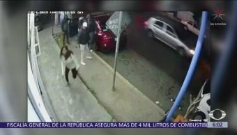 Difunden rostros de presuntos ladrones de automóvil en Ecatepec