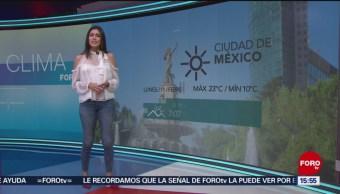 Foto: El clima 'A las Tres' con Daniela Álvarez del 11 de febrero de 2019